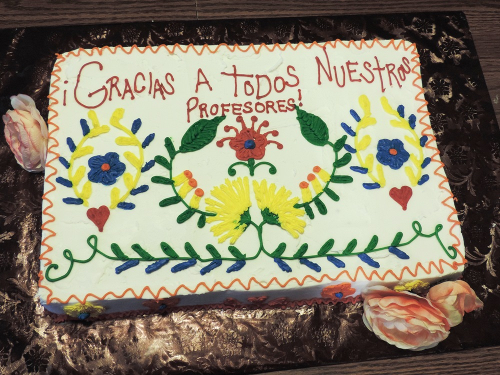 Mexican Teacher Appreciation Cake
